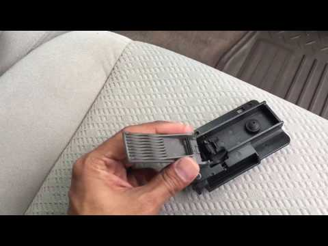 Chevrolet Silverado GMC Sierra Glove Box Door Latch Handle Silver OEM 2007-2014