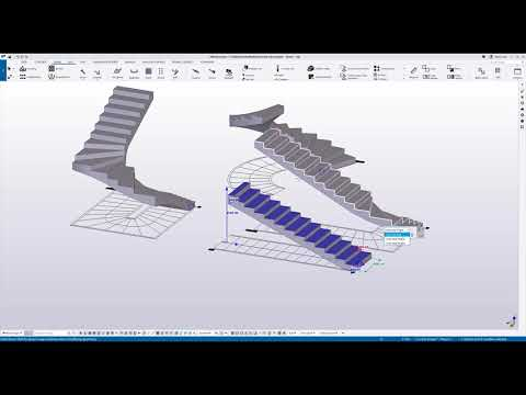 Tekla Structures - Concrete Stairs Tool: How to use