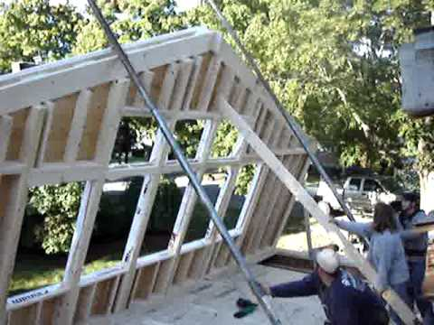 Wall Jacks For Framing raising the south wall - part ii - youtube