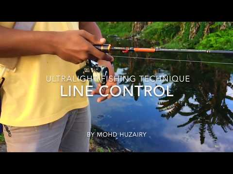 Ultralight Spinning Reel Line Control