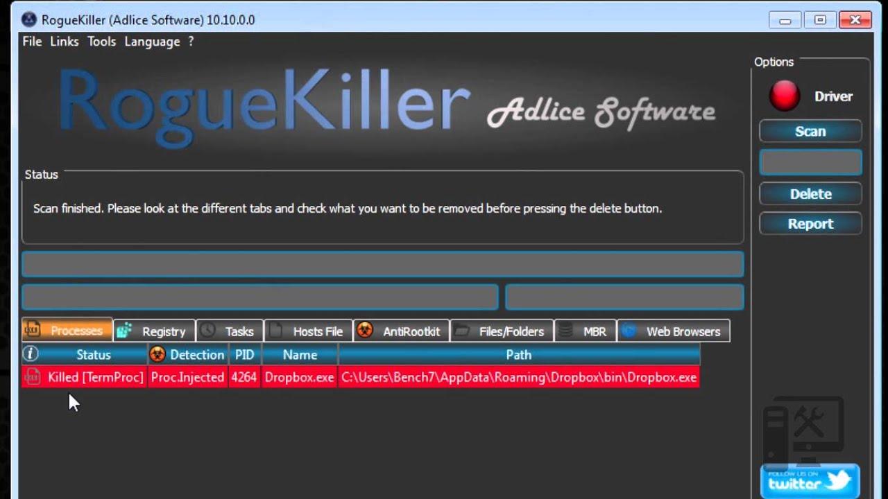 RogueKiller Anti-malware 14.7.3.0 Download 2021