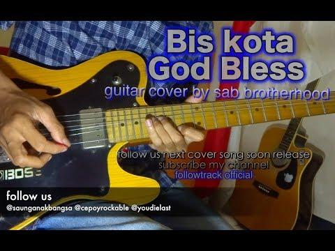 Bis kota   God bless   guitar cover instrumental by sab brotherhood   guitar rig sound audio preset