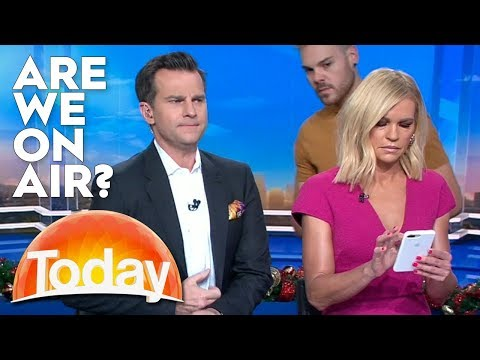 Hosts Dont Realise Theyre On-Air | TODAY Show Australia