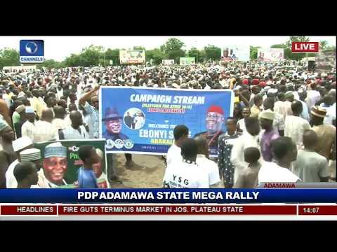 PDP Adamawa Kicks Off Atiku Campaign Pt.4 |Live Event|