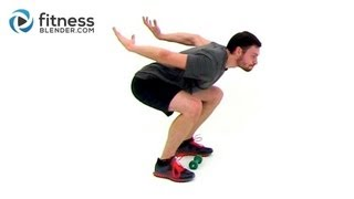 Fat Burning Plyometric Workout -- Plyometric Training for Power, Speed and Increased Vertical