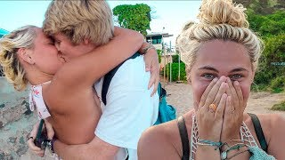 I TRAVELED 3,000 MILES TO SURPRISE MY GIRLFRIEND!!