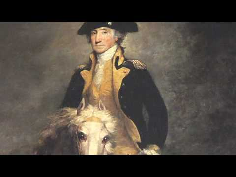 George Washington - President Founding Father Patriot & A Great Horsemen - Rembrandt Painting