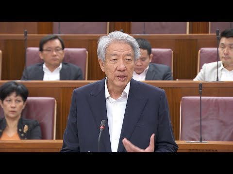 DPM Teo Chee Hean's Ministerial Statement on 38 Oxley Road