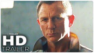 James Bond 007: No Time To Die Teaser Trailer 2020 Daniel Craig, Rami Malek Movie Hd