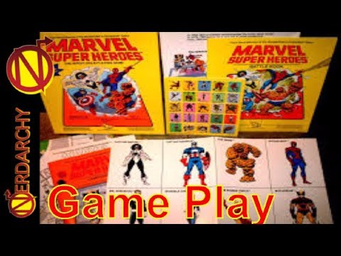 (Session 3) Marvel Super Heroes Role-Playing Game Live Play