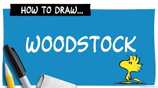 How to Draw Woodstock