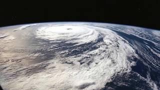 Shocking satelite images of Hurricane Florence's