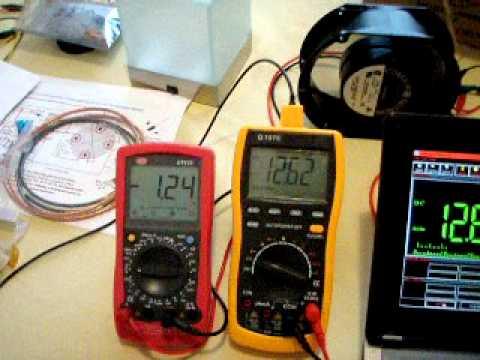6in Fan Test003 - Single 7Ah Battery Test - 006