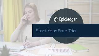 EpicLedger Financial Dashboard - Know Your Numbers In 60 Seconds!
