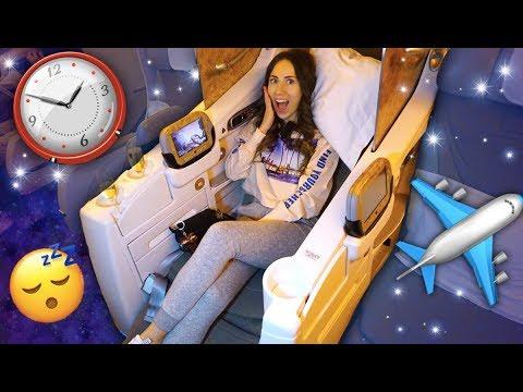 Ночь в Самолете Бизнес Класс в 3 часа Ночи летим в Дубай  | Elli Di