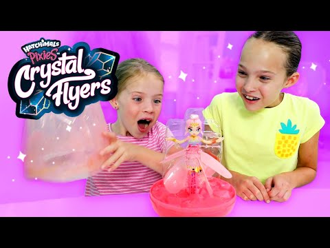 Tips & Tricks for NEW Hatchimals Crystal Flyers! Real-flying Pixies!