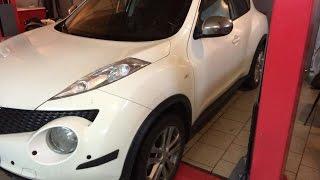 Как поменять сайлентблоки  Nissan Juke