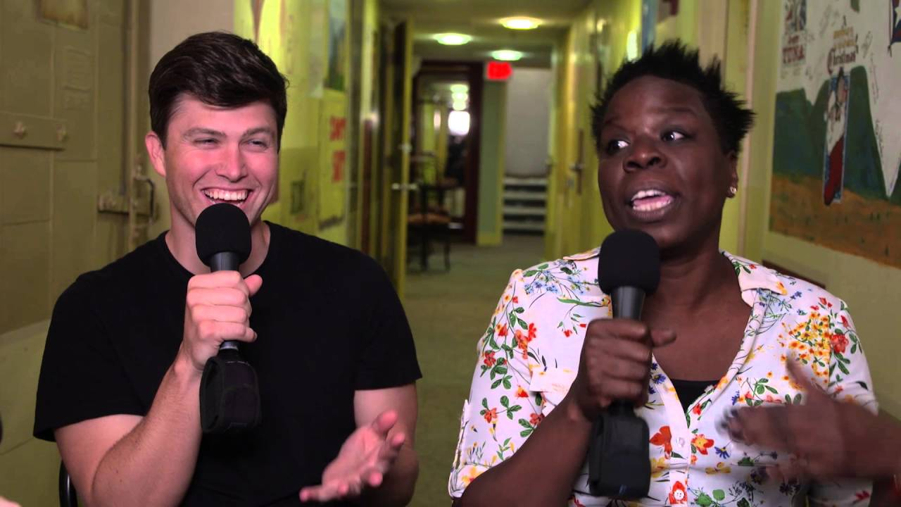 Leslie Jones Colin Jost S First Time 2016 Moontower Comedy Festival In Austin Tx Youtube