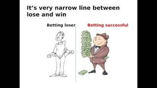 Fail strategy in sports betting tips: Betting money on low odds. screenshot 5