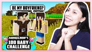 IM STEALING HER BOYFRIEND! - Minecraft: 100 Baby Challenge - EP 1