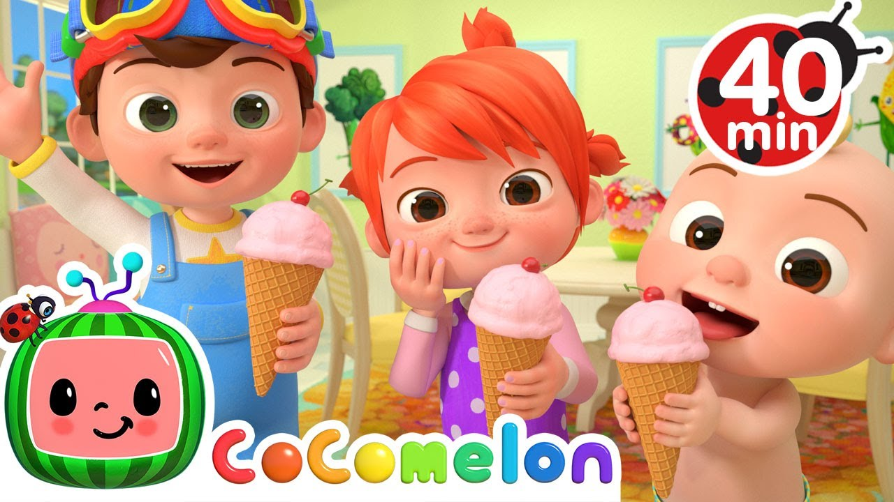 Ice Cream Song + More Nursery Rhymes & Kids Songs - CoComelon
