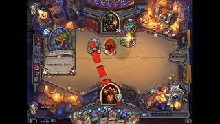 Hearthstone- Dragon Warrior vs Midrange Hunter