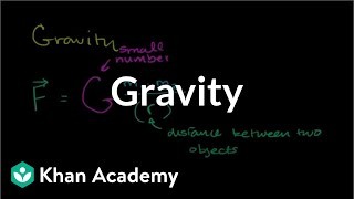 Introduction to gravity | Centripetal force and gravitation | Physics | Khan Academy