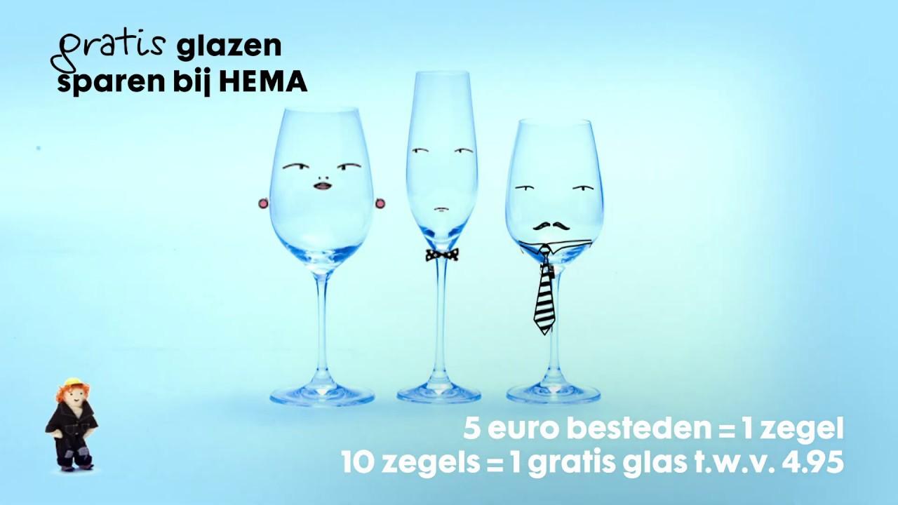 HEMA  Spaaractie glazen