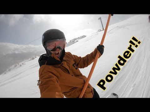 Snowboarding Powder Off The T-Bar - Breckenridge Colorado - (Season 3, Day 33)