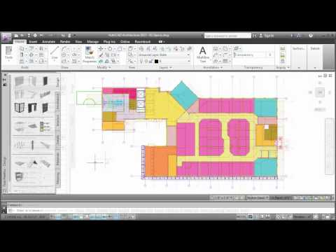Managing Spaces: AutoCAD Architecture 2013