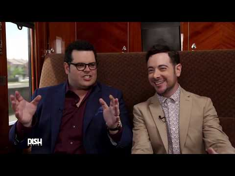 JOSH GAD GIVES THE SCOOP ON 'MUDER ON THE ORIENT EXPRESS' & WORKING WITH JOHNNY DEPP