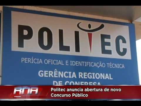 Politec anuncia abertura de novo Concurso Público com vagas para Vila Rica e Confresa