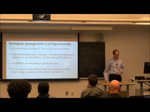 NEU Personal Health Informatics Doctoral Program Open House - Program Overview