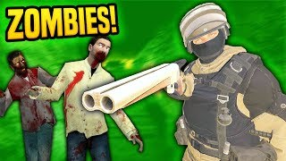 WAKING UP IN THE ZOMBIE APOCALYPSE IN VIRTUAL REALITY - Pavlov VR (Funny Moments)
