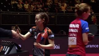女子シングルス4回戦ハイライト 石川佳純 vs サマラ
