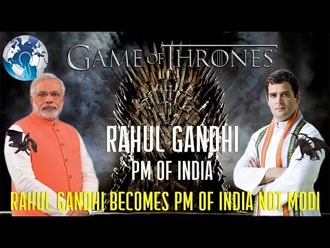 Modi in Shock Rahul Gandhi Becomes Prime Minister of India