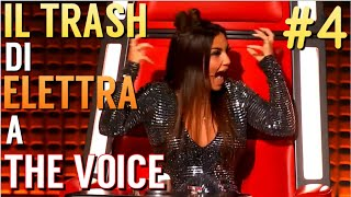 TUTTO IL TRASH DI ELETTRA LAMBORGHINI A THE VOICE | BLIND AUDITIONS #4 - TVOI 2019
