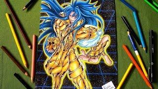 Speed Drawing Gemini Defteros (Saint Seiya - The Lost Canvas)