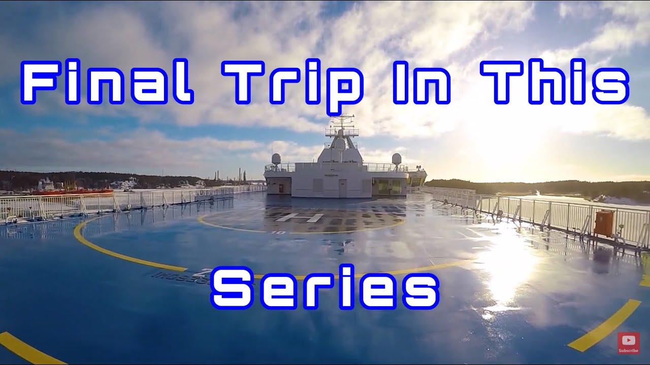 POV Volvo FH500 Trip In Scandinavia Part 4 Finland and Sweden