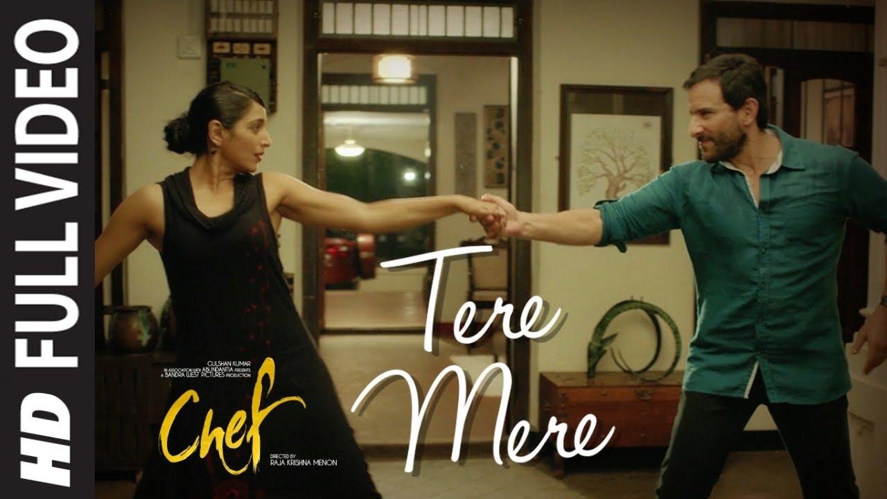 Download Full Video:  Tere Mere Song   Chef   Saif Ali Khan   Amaal Mallik feat. Armaan Malik   T-Series