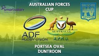 2018 Australian Forces Cup - Australian Defence Force Rugby Union v Australian Police Rugby Union