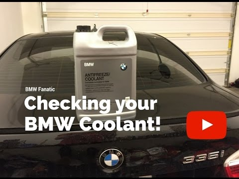 How to check your BMW Coolant  YouTube