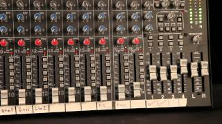 Carvin C1240 and C2040 mixers