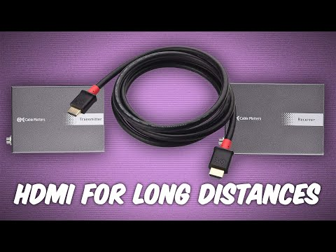 How to Run 4k HDMI Over Long Distances - Ask The Tech Guy 20