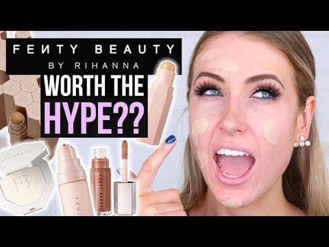 Fenty Beauty by Rihanna: WORTH THE HYPE?! || Full Day Wear Test: 5 First Impressions