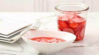 Quick Pickled Radishes- Martha Stewart
