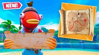 🔴 *NEW* TREASURE MAP Item in Fortnite