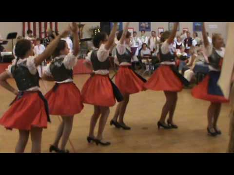 United Moravian Society Dancers, Czech & Slovak American Festival, Dearborn Heights, MI, 7-16-16