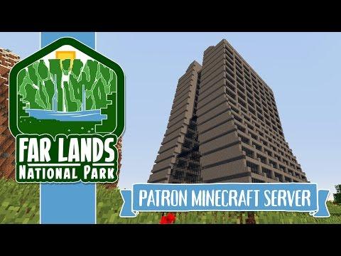 Farlander Patron Minecraft Server - Fermilab Wilson Hall!