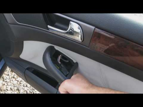 Audi A6, S6, RS6, Allroad C5, 1997-2004 Door Panel Removal - How To Remove The Door Panel